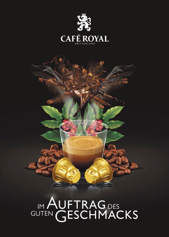 Anzeige der Firma Café Royal®